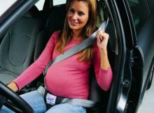 Cinturon de coche para embarazadas