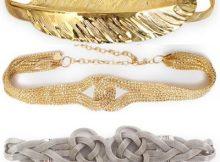 cinturones dorados
