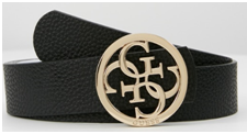 Cinturones con hebillas grandes