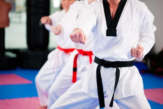 Taekwondo cintas
